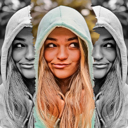 heypicsart makeawesome picsart rippedpaper background girl model effect blackandwhite love share save remixit ❤️❤️❤️ freetoedit unsplash