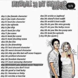 30daysriverdalechallenge