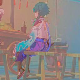 genshinimpact genshin genshinimpactxiao xiao genshinimpactaesthetic xiaoaesthetic xiaoven tofuboy anime
