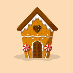 Become,the,creator,of,the,best,gingerbread,house,sticker!,Just,create,and,submit!