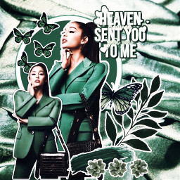 collage hamilton complexedit freetoedit arianagrande textile challenge green fcinyourownway inyourownway