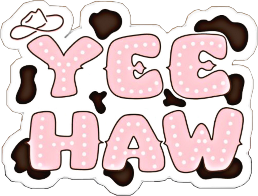 #yeehaw #sticker #yeehawsticker #country #countrygirl #countrystickers
