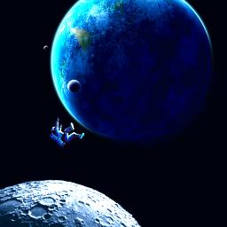 space astronaut freetoedit