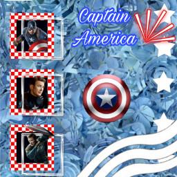freetoedit fourthofjuly america captainamerica