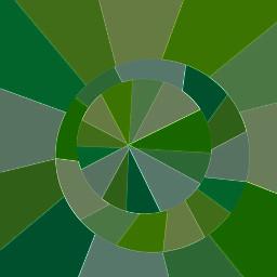 selection circle neon green limegreen abstract