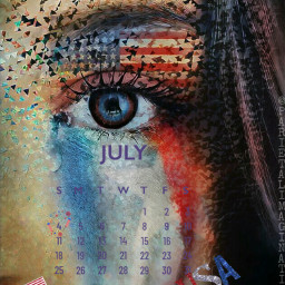 freetoedit julycalendar