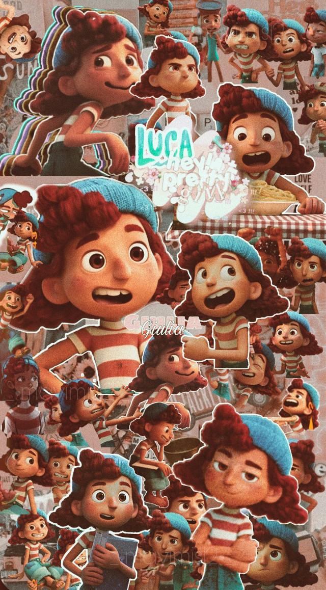 #Luca #Giulia ## #freetoedit #wallpaper #fondosdepantalla #pfp #icon #edit #movie #pixar #disney #pelicula #disneypixar