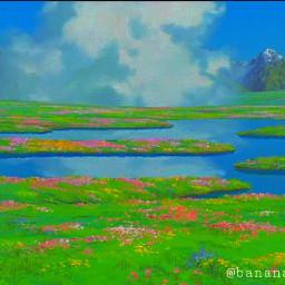 freetoedit howlsmovingcastle garden flowers howlandsophie secretgarden