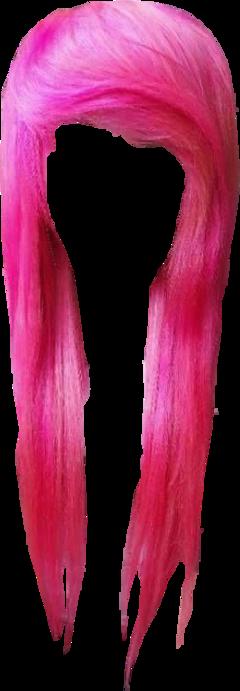 hair emo scene scemo pink fringe freetoedit