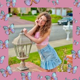 freetoedit symonneharrison pink butterfly lusynda9 srcsparklybutterflies sparklybutterflies