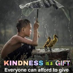 kindness freetoedit picsart