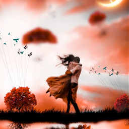 freetoedit madewithpicsart interesting hugs love happy creative picsart orange