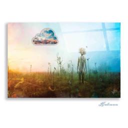 freetoedit art oilpainting doubleexposure sky cloud eccottonclouds2021 cottonclouds2021
