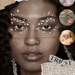 freetoedit beauty pearls aesthetic renaissance