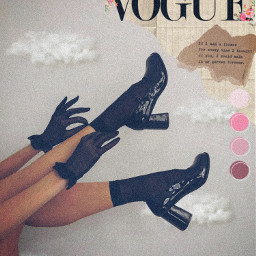 freetoedit vogue blackshoes pretty