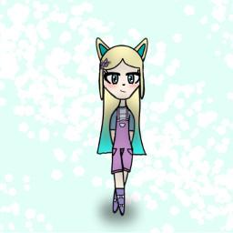drawing arttrade lps_endergirl_kitty art