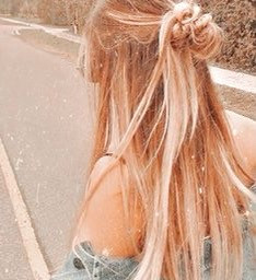 interesting hairstyle