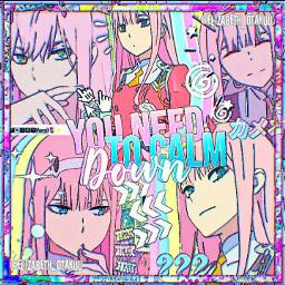 anime animeedit animecomplex darlinginthefranxxedit darlinginthefranxx zerotwo