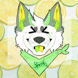 myart furryart sprite lemon lime furryartist