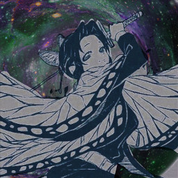 kochoushinobu shinobu shinobukochou kny kimetsunoyaiba demonslayer pilar pilardelinsecto morado waifu manga anime otaku dark freetoedit local srcgalactichole galactichole