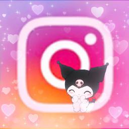 freetoedit kuromi ig insta instagram sanrio aesthetic kuro kuromisanrio kuromiedit