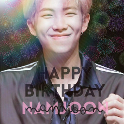 bts kimnamjoon rmbts happybirthdaykimnamjoon freetoedit local