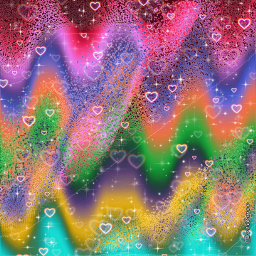 colorfulbackground colorfulwallpaper heartsbackground colorfulwaves replay 2021 freetoedit local