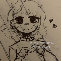 also art myart penonlychallenge penart doodle sorryfornotpostinglately france randomcharacter notfreetoedit