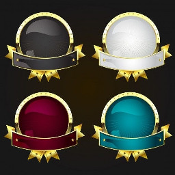 freetoedit emput cover gold round png transparent banner