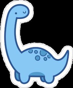 art japan dino dinosaur pink blue dinosaurio aesthetic sticker kawaii cute freetoedit