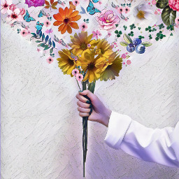 buquês flowers mágic amazing spring freetoedit