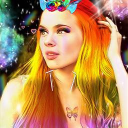rainbow freetoedit srcunicornhorn unicornhorn