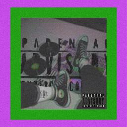 freetoedit parentaladvisory grunge convers beetlejuice green purple greenandpruple cd