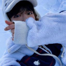 seungmin straykids skz straykidsseungmin stay youmakestraykidsstay kpop kpopedit edit filter baby cutie adorable ice snow love freetoedit local