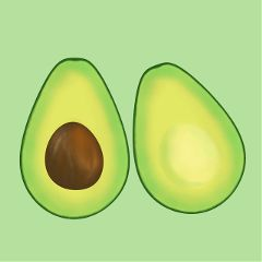 Create,awesome,stickers,of,avocados,and,submit,them,to,this,challenge!